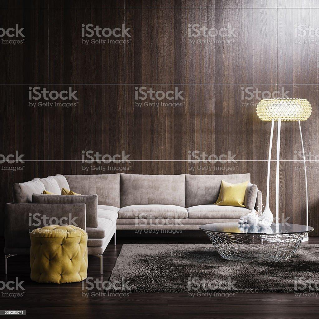 Modern Interior design stock photo
