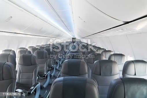 istock modern interior of the airliner 1130429670