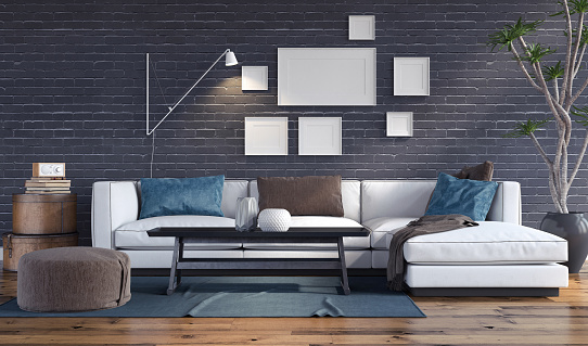 Modern Interior Stock Photo - Download Image Now