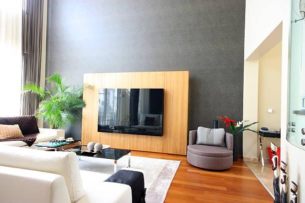 moderne inneneinrichtung - feng shui einrichten stock-fotos und bilder