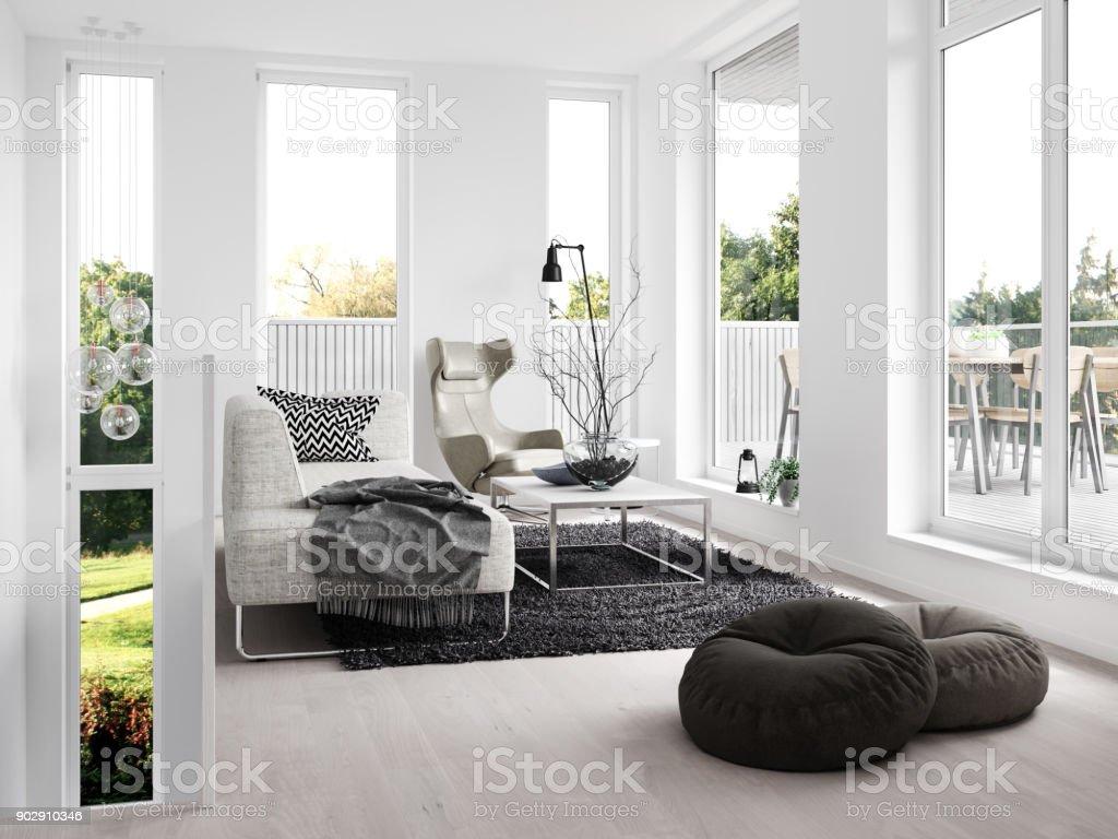 Anspruchsvoll Moderne Inneneinrichtung Das Beste Von Lizenzfreies Stock-foto