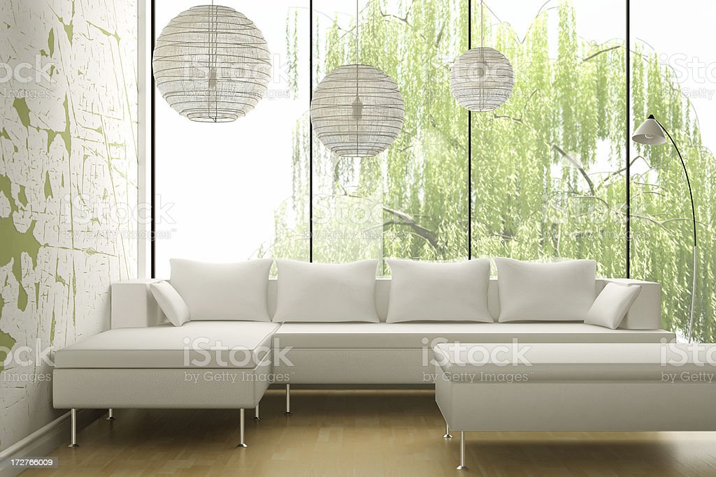 Modern Interior Render Stock Photo - Download Image Now - iStock