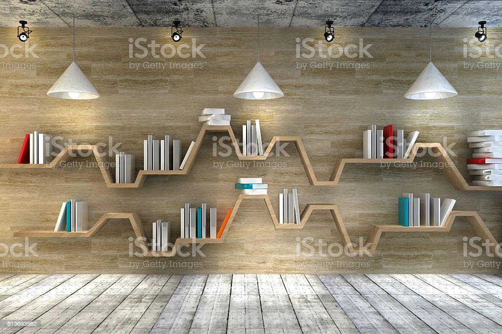 Modern interior room with beautiful furniture stock photo