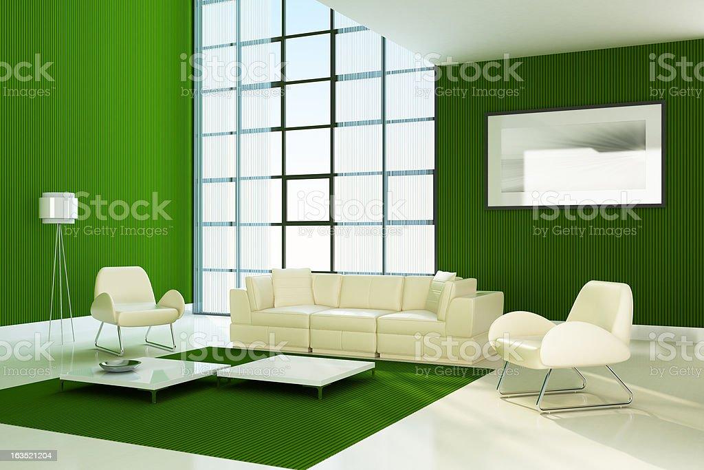 Modern Interior Showroom royalty-free stock photo