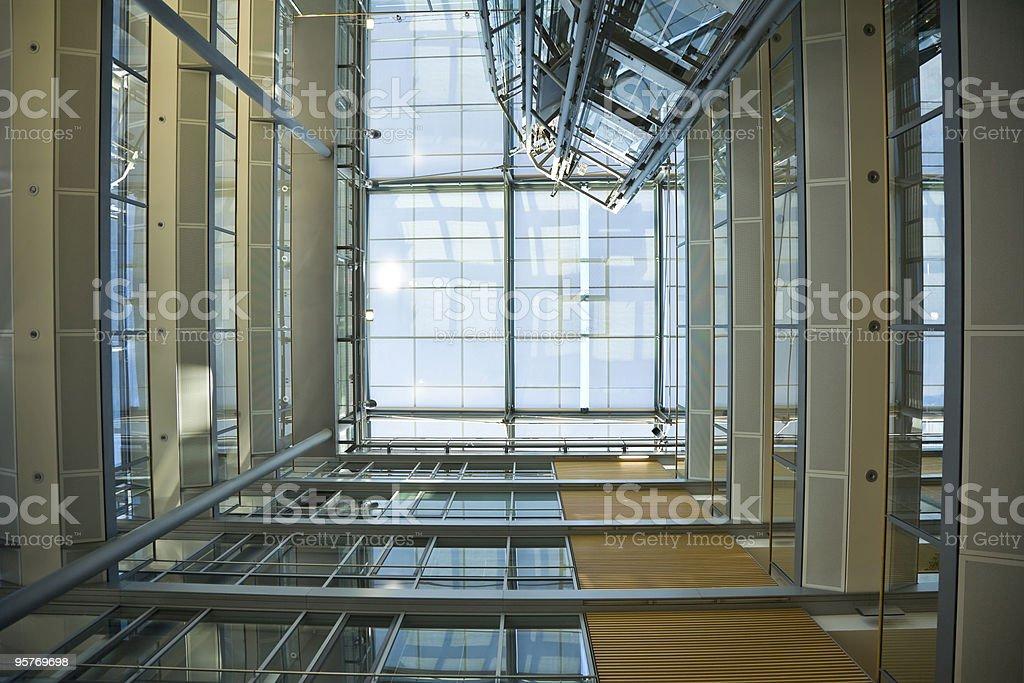 Modern Interior with Elevator royalty-free stock photo