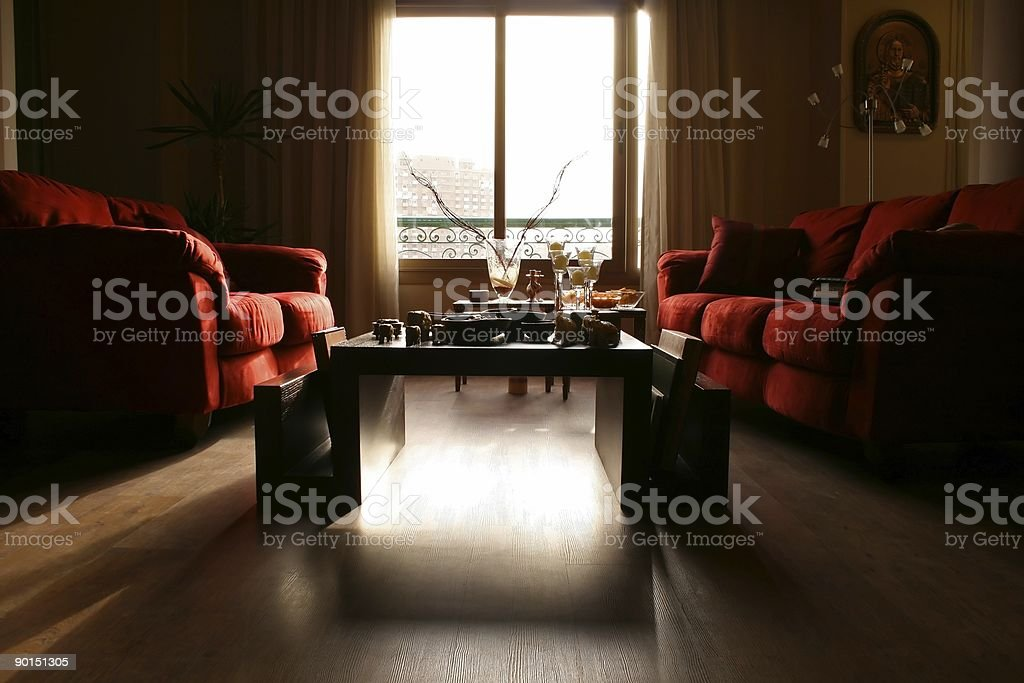 Modern Interiors (Series) - Living Rooms royalty-free stock photo