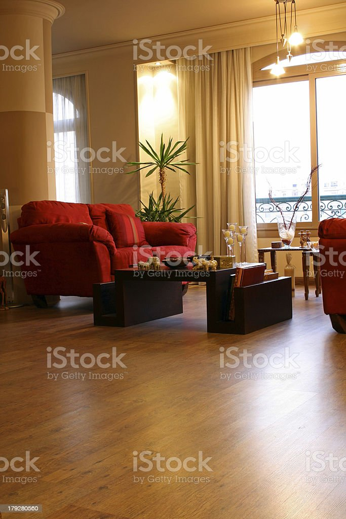 Modern Interiors - Reception Area royalty-free stock photo