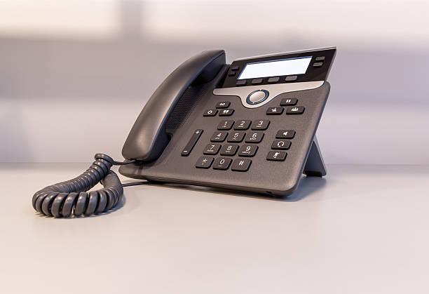Cтоковое фото Современный IP-телефона