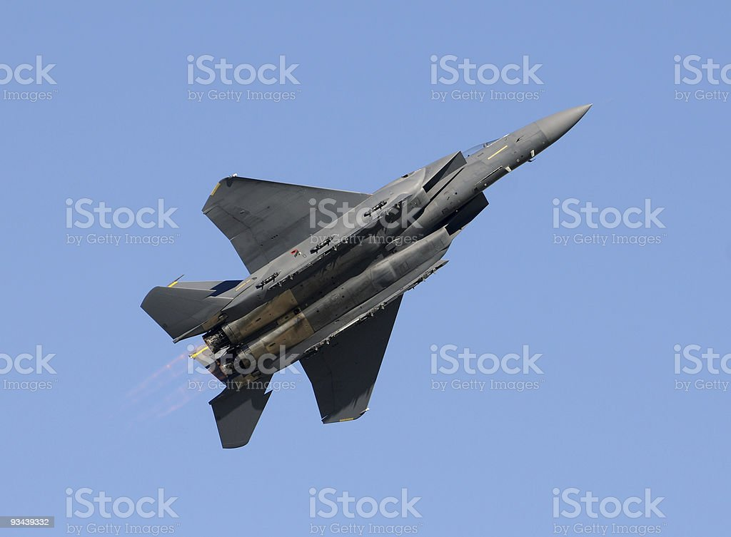 Moderne jetfighter Lizenzfreies stock-foto