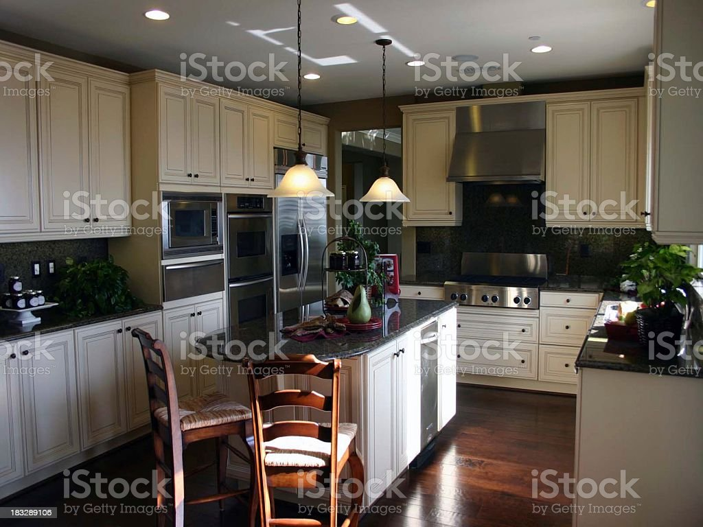 Modern Kitchen 2 royalty-free stock photo