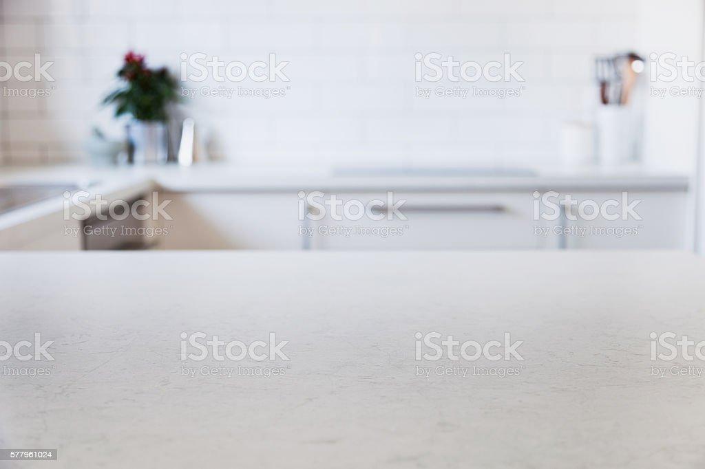 Nowoczesna kuchnia counter – zdjęcie