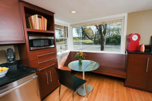 Modern Kitchen Design- Breakfast Area Hz