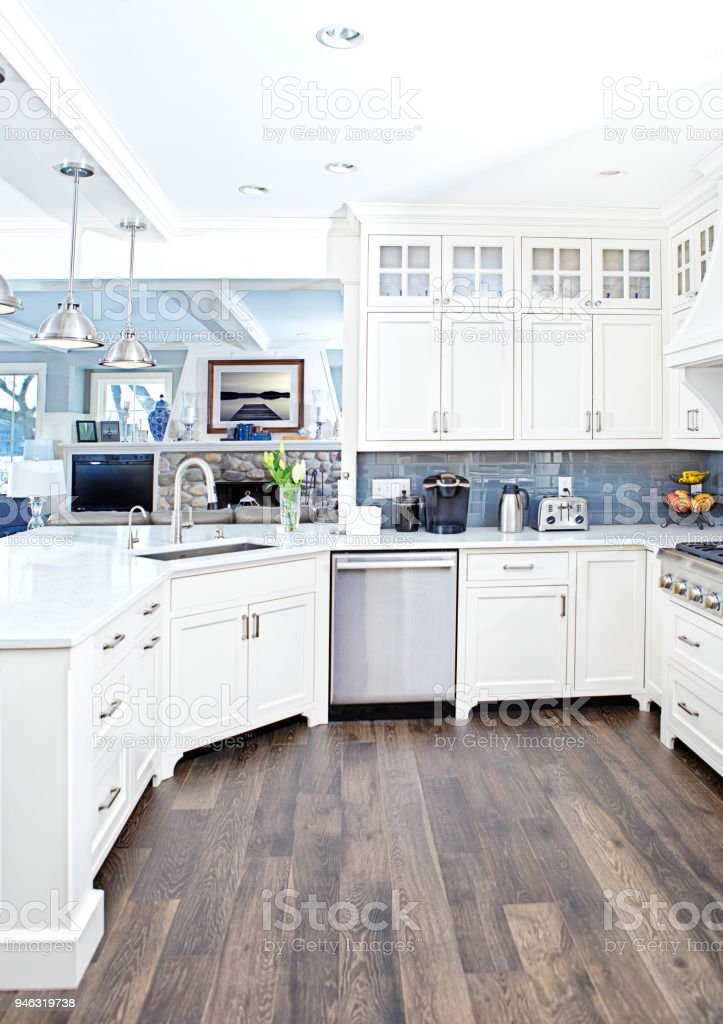 Modern Kitchen Design With Open Concept And Bar Counter ... on Modern Kitchen Counter  id=22196