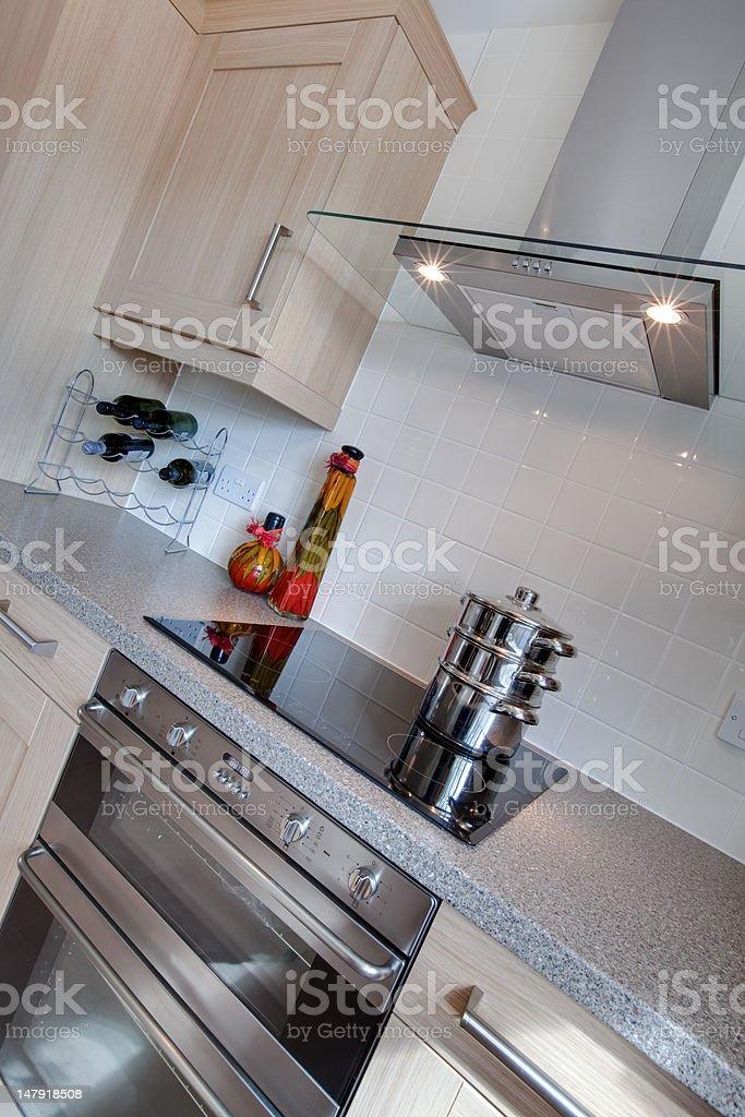 Modern Kitchen detail royalty-free stock photo