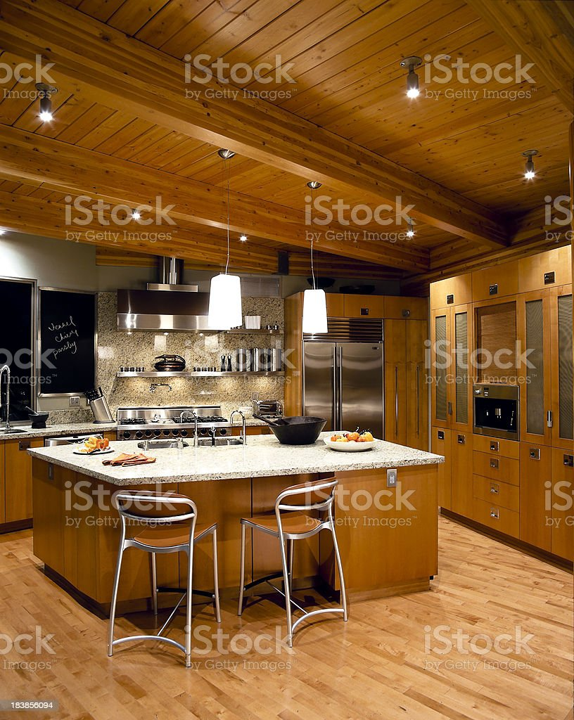 modern kitchen house royalty-free stock photo