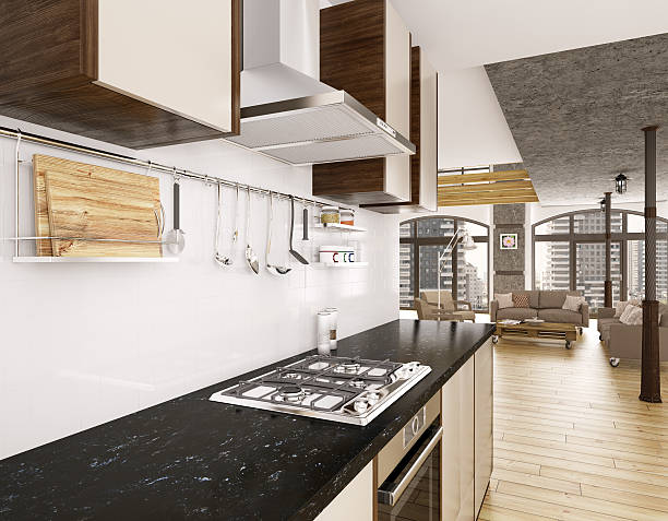 Modern kitchen interior 3d render picture id512802196?b=1&k=6&m=512802196&s=612x612&w=0&h=hf 8rtib nfbnng6 5bazvavw1faf zypy58scrcg6c=