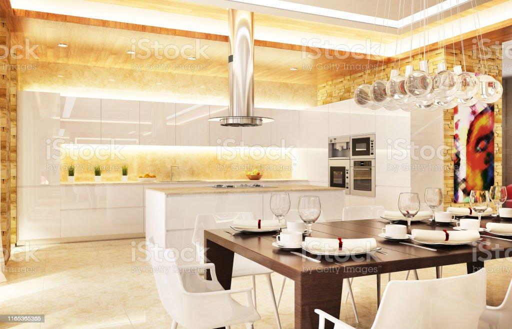 Modern Kitchen Interior Design Stock Photo Download Image Now Istock
