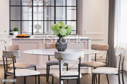 istock Modern Kitchen Interior design 492426902