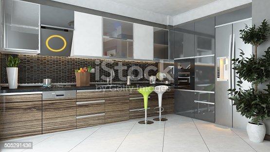 istock modern kitchen interior design 505291436