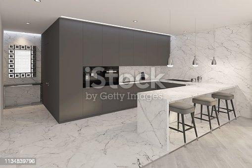 istock A Modern kitchen interior 1134839796