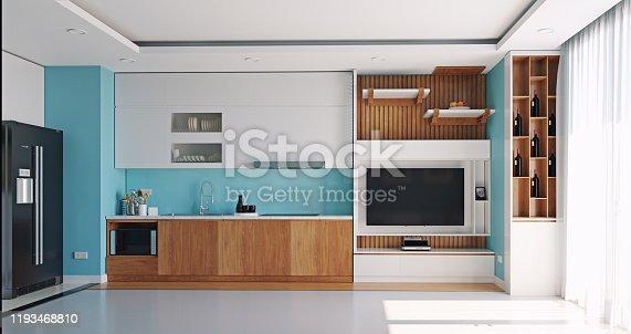 istock modern kitchen interior 1193468810
