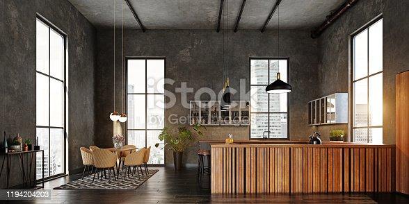 istock modern kitchen interior 1194204203