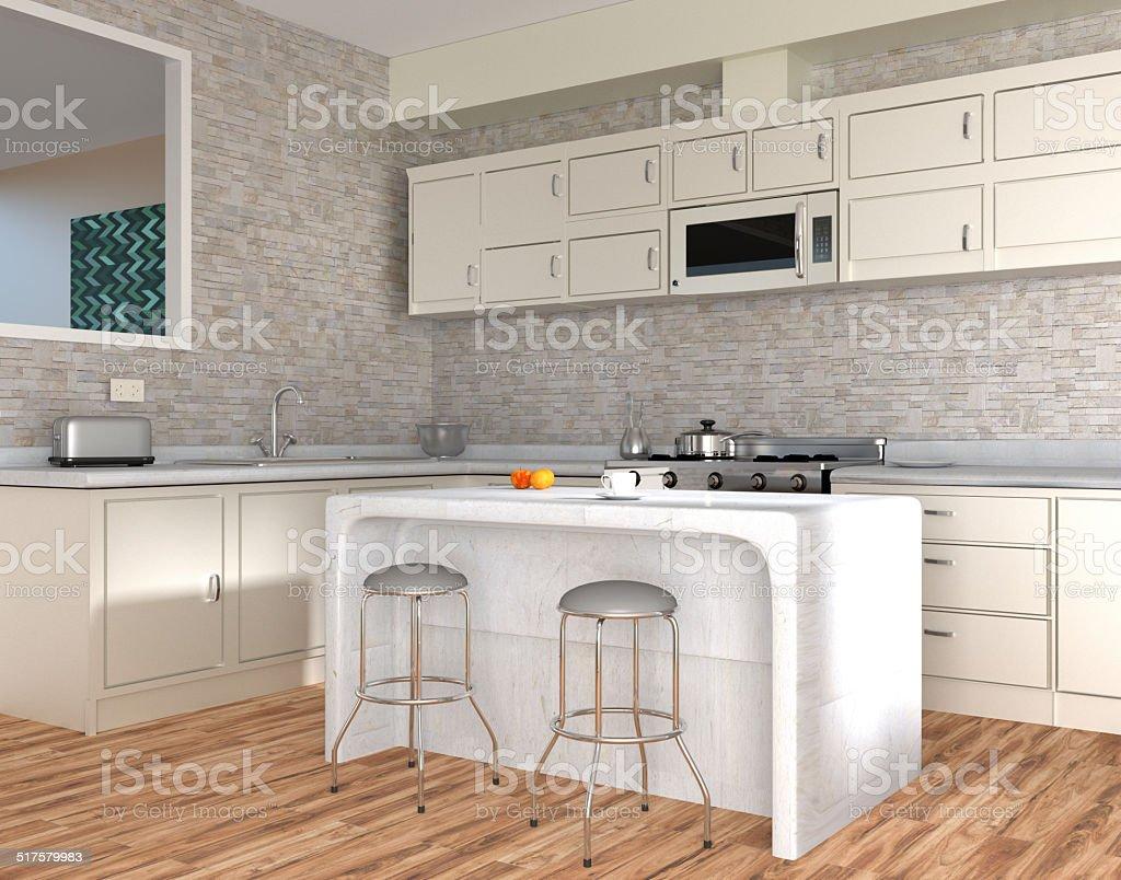 Moderne Küche Interior Stock-Fotografie und mehr Bilder von ...