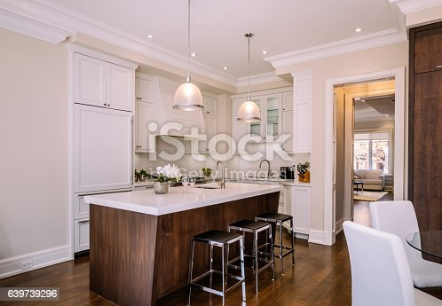 istock Modern kitchen interior 639739296