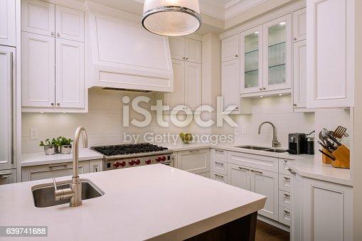 istock Modern kitchen interior 639741688