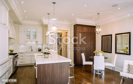 istock Modern kitchen interior 639742536