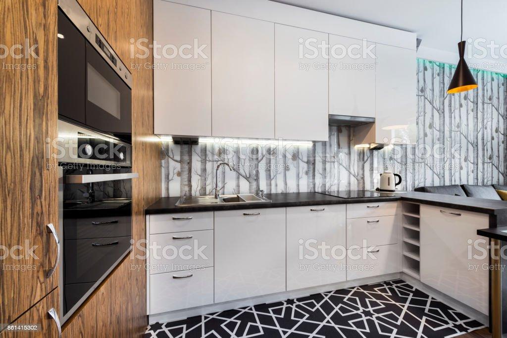 Moderne Küche interior  – Foto