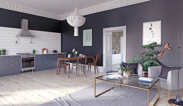 Modern kitchen interior picture id922669810?b=1&k=6&m=922669810&s=612x612&w=0&h=vce2ok5hh4vn2kwavjgjkaanmvw9s4faim6hzxezp8w=
