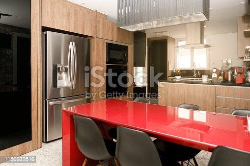 istock Modern kitchen 1150632516