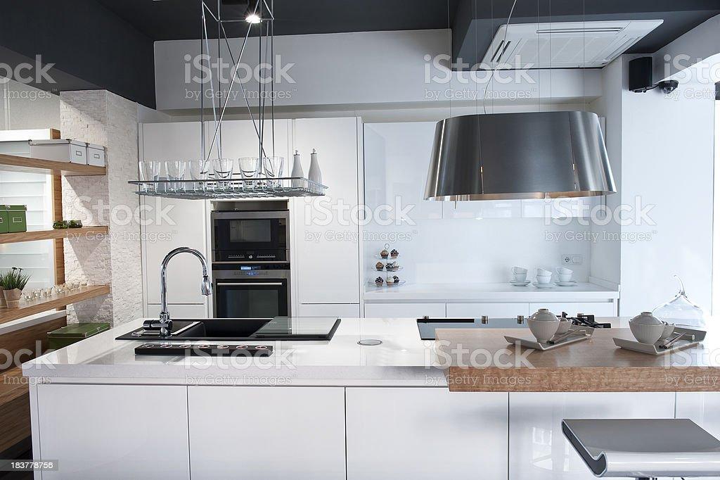 Modern Kitchen royalty-free stock photo