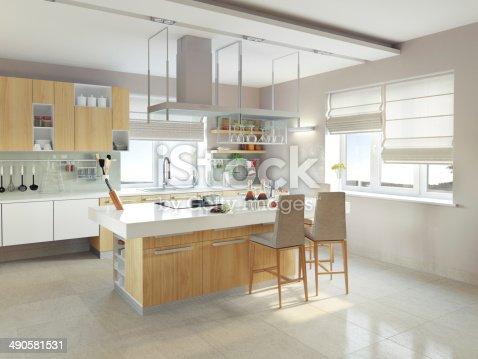 istock modern kitchen 490581531