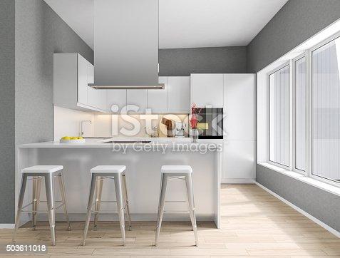 istock Modern kitchen 503611018