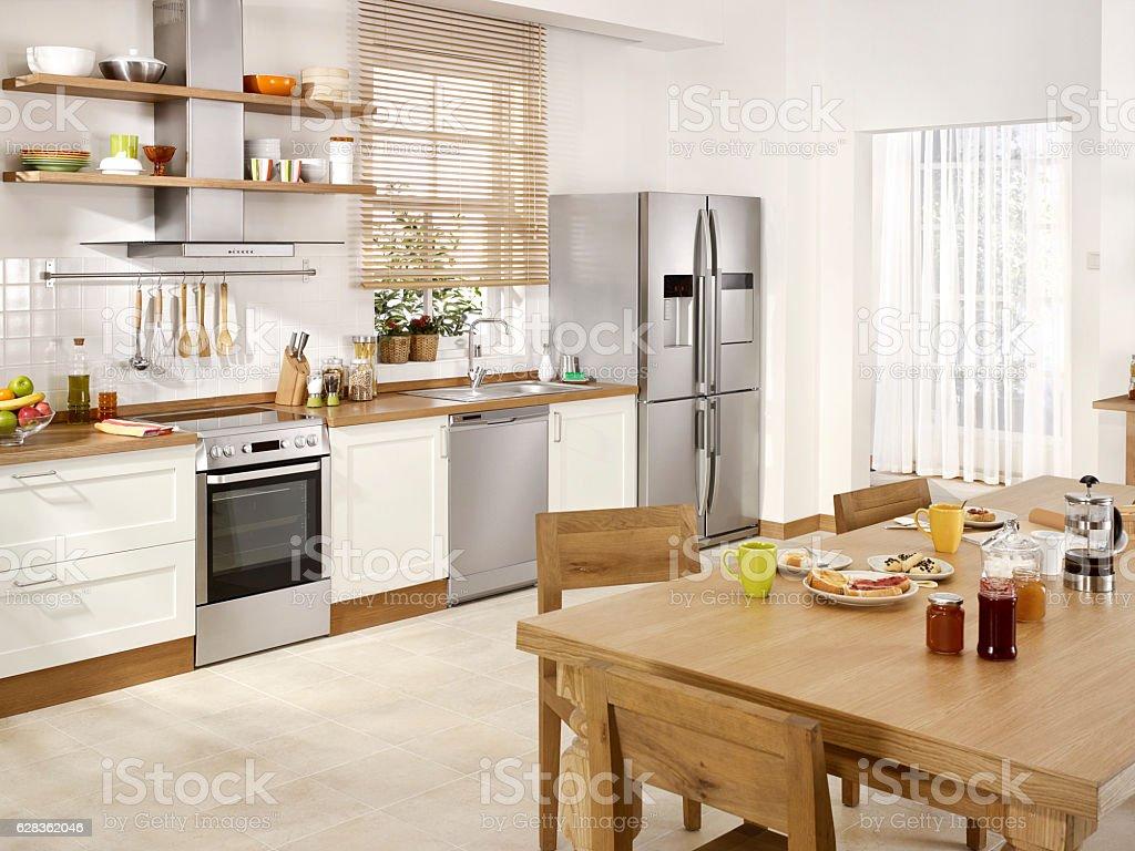 Foto De Cozinha Moderna E Mais Banco De Imagens De Arm Rio Istock