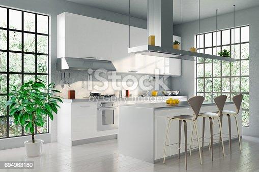 istock Modern Kitchen 694963180