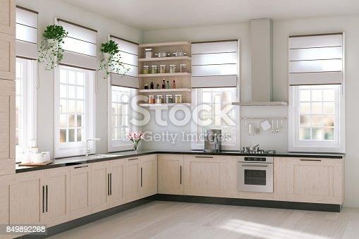 istock Modern Kitchen 849892268