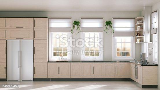 istock Modern Kitchen 849892450