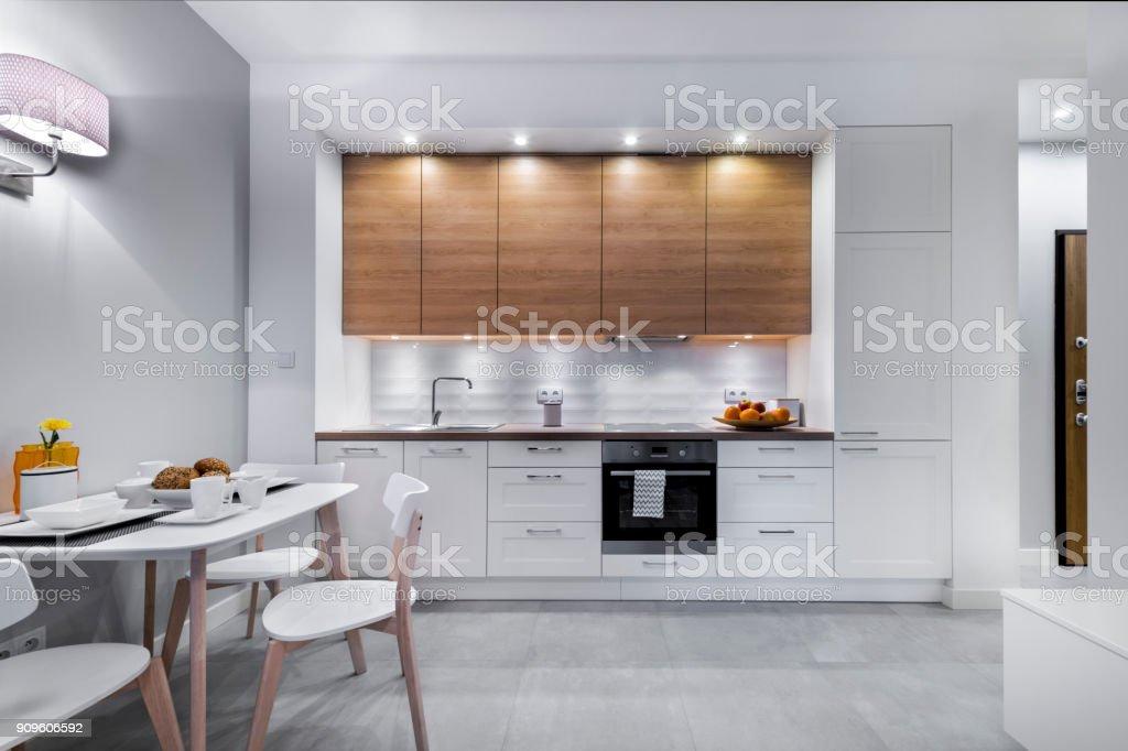 Moderna cocina - foto de stock