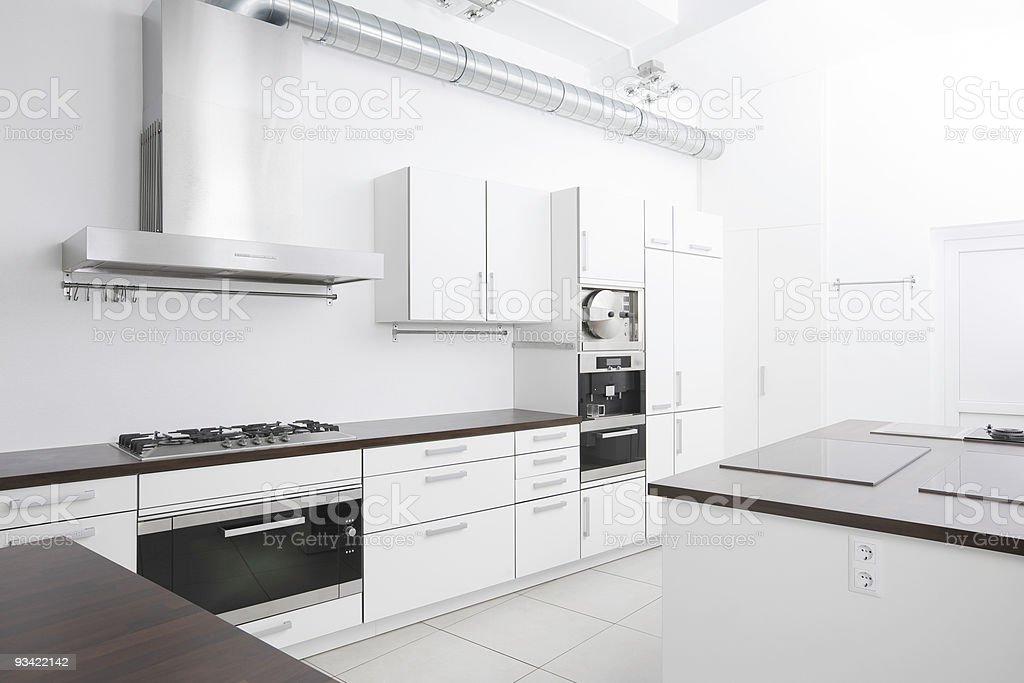 Modern Kitchen stock photo