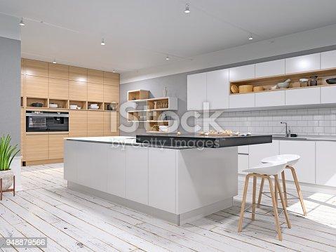 istock Modern Kitchen 948879566