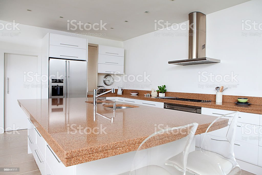 Modern kitchen 免版稅 stock photo