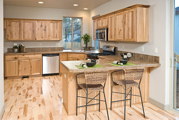 Modern kitchen with hardwood cabinets and floor picture id183417309?b=1&k=6&m=183417309&s=612x612&w=0&h=wmjricd7k04zckdqw6o fut cip2yiivdxd8 h8fqwg=