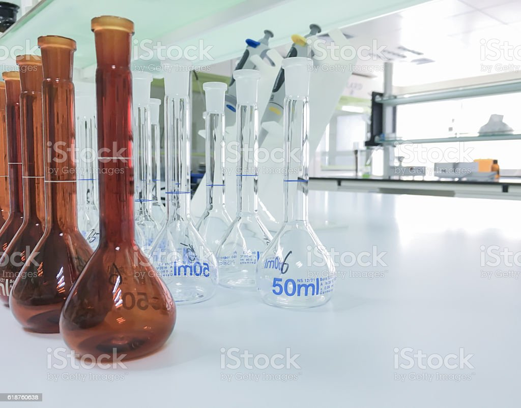 Modern laboratory background,science background stock photo