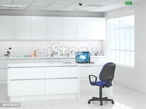 894029864istockphoto Modern laboratory 954538302
