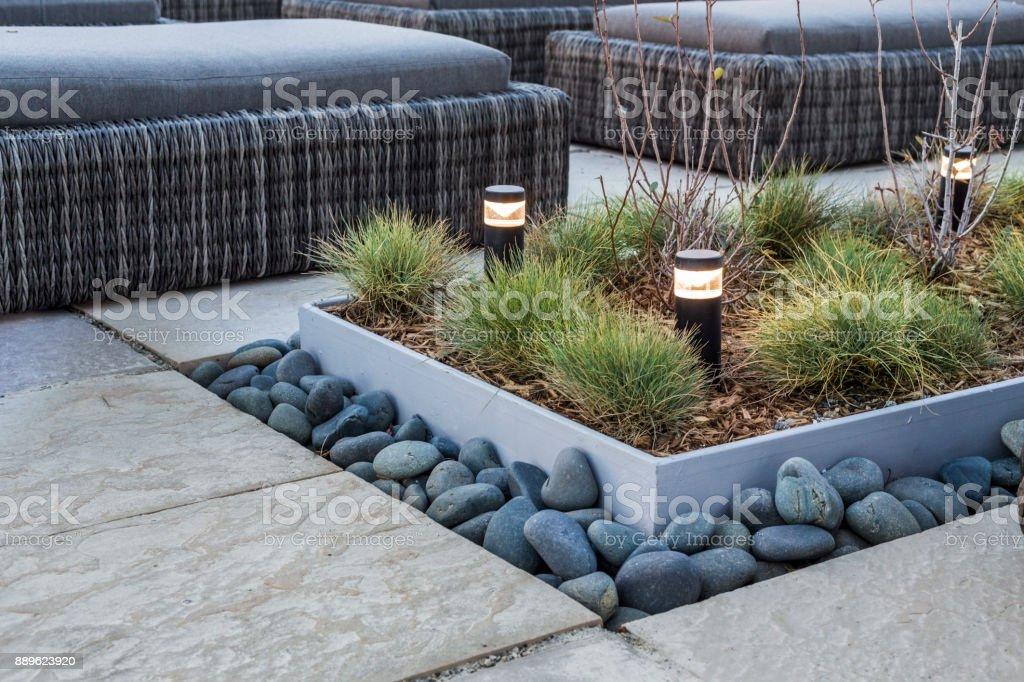 Modern Landscape Detail royalty-free stock photo