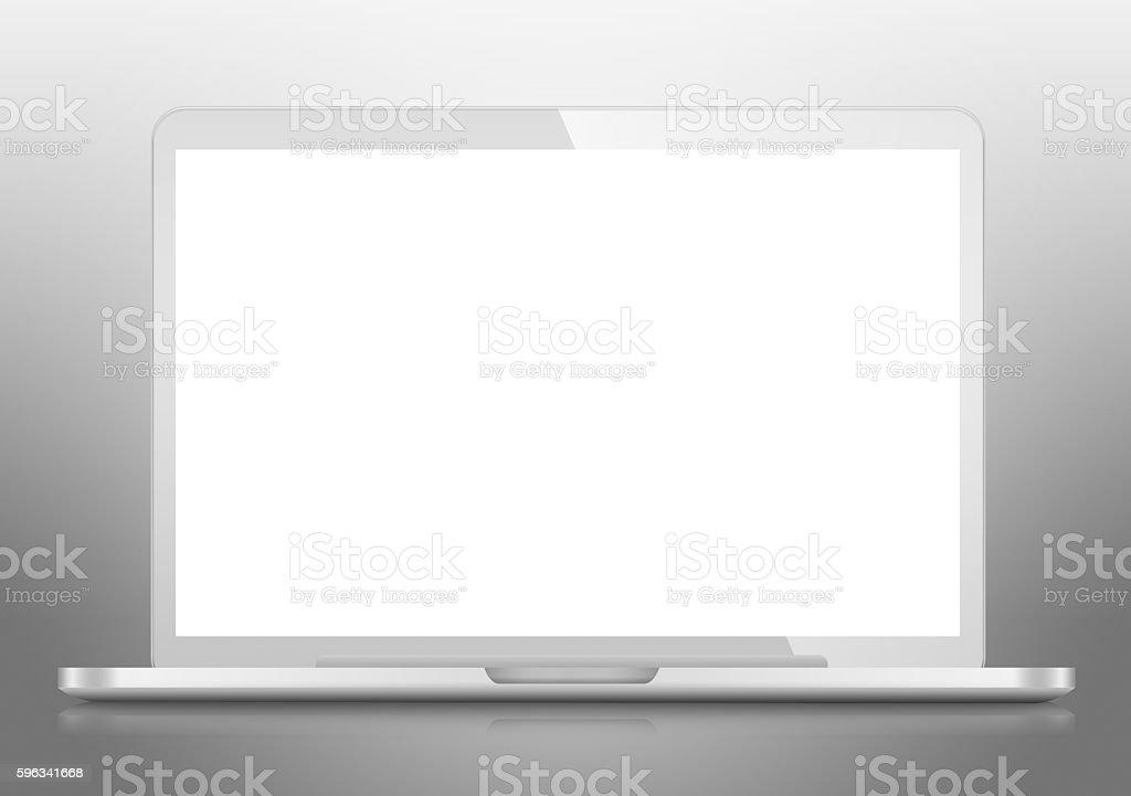 Modern Laptop PC royalty-free stock photo