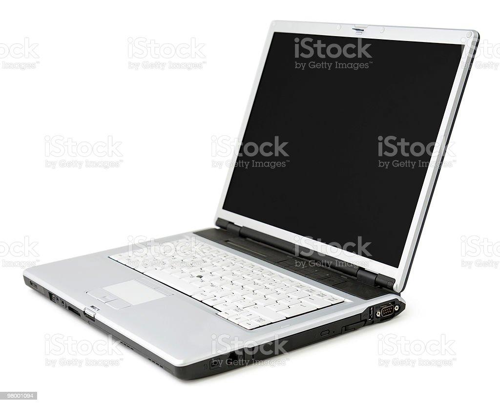 Moderno laptop foto royalty-free